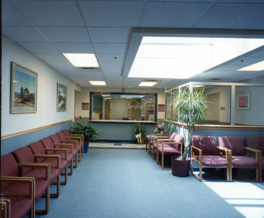 Hospital Check In Area : Health care projects clyde s blackwell maine licensed