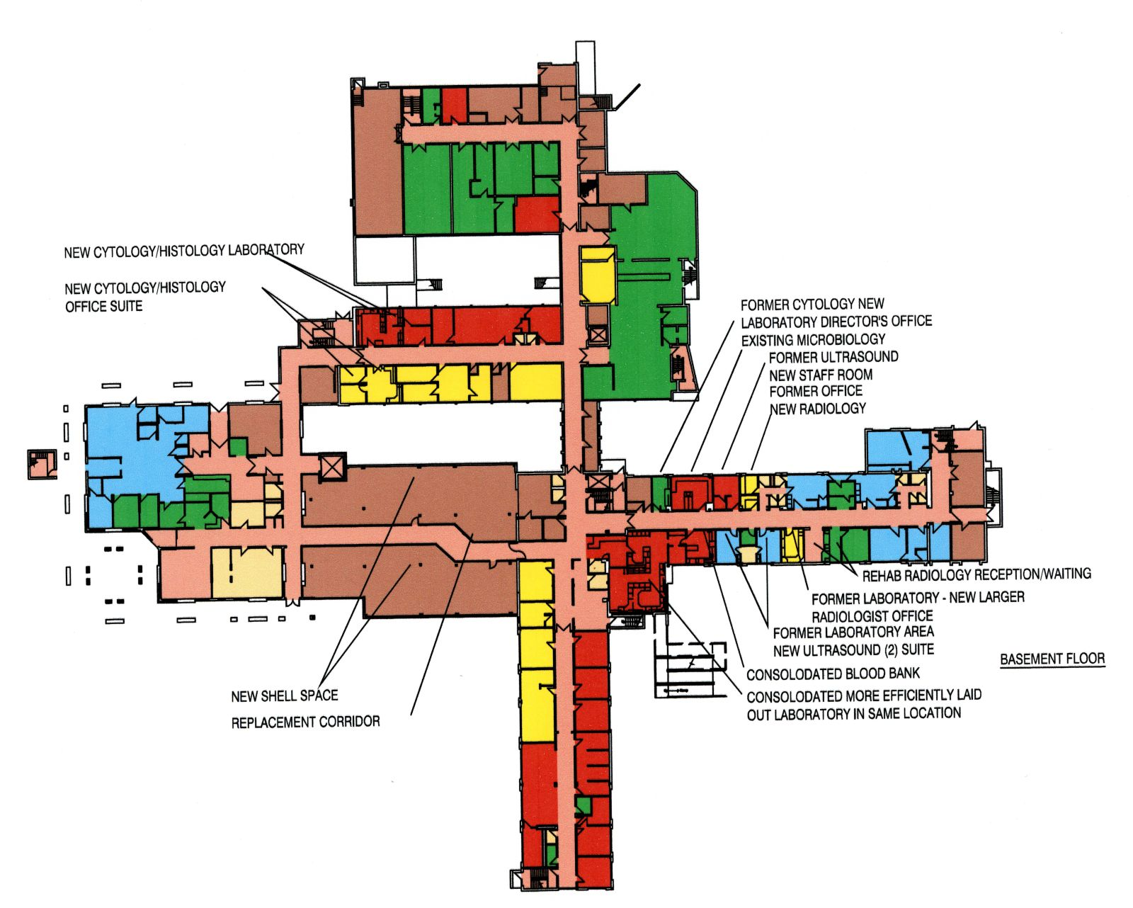 Health care projects clyde s blackwell maine licensed for Floor plan services