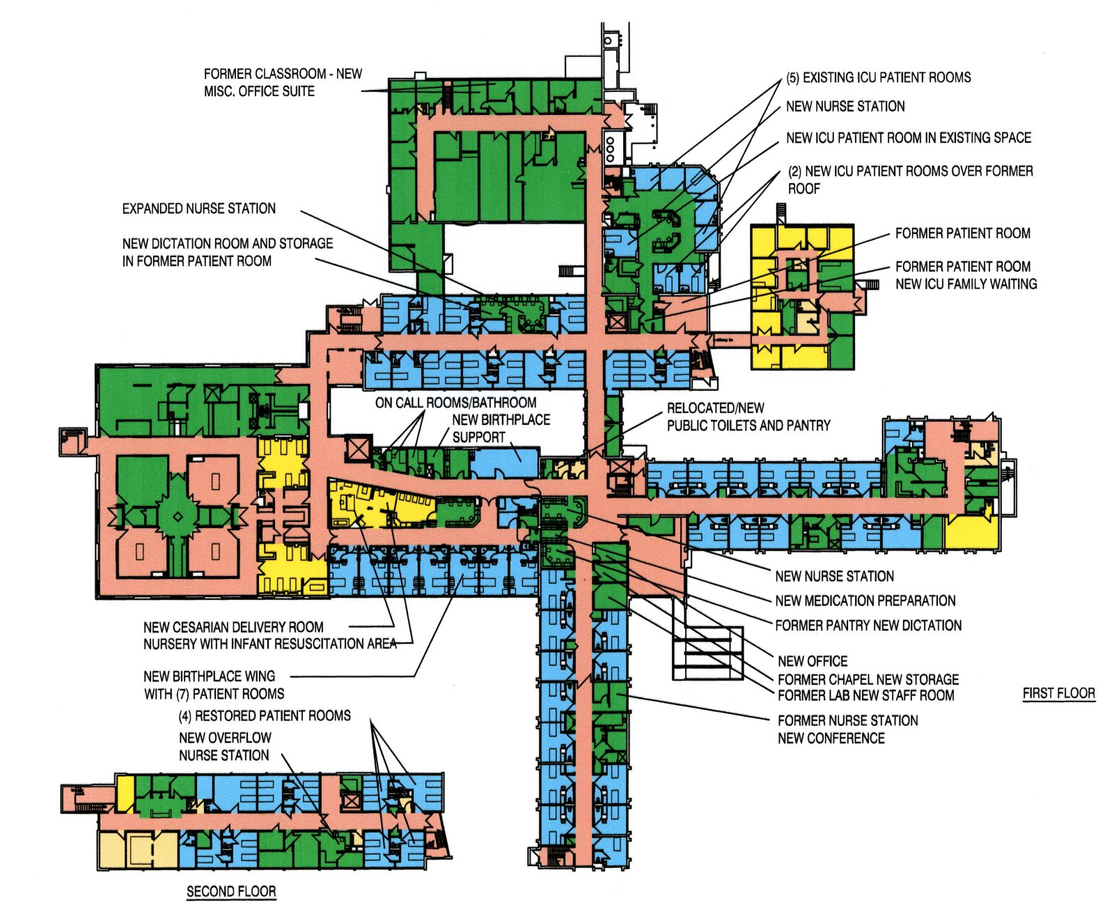 Health Care Projects on Family Room Addition Floor Plan